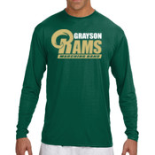 G-RAMS-MB - N3165 A4 Long-Sleeve Cooling Performance Crew Neck T-Shirt