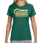 G-RAMS-MB - NW3201 A4 Ladies' Short-Sleeve Cooling Performance Crew