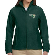 RAMS - M990W Harriton Ladies' 8oz. Full-Zip Fleece