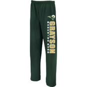 Grayson - 974MP Jerzees Adult 8oz. NuBlend® 5050 Open-Bottom Sweatpants