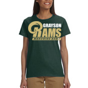 G-RAMS-MB - G200L Gildan Ultra Cotton® Ladies' 6 oz. T-Shirt
