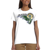 RAM - G200L Gildan Ultra Cotton® Ladies' 6 oz. T-Shirt