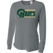 G-RAMS - NW3002 A4 Ladies' Long Sleeve Cooling Performance Crew Shirt